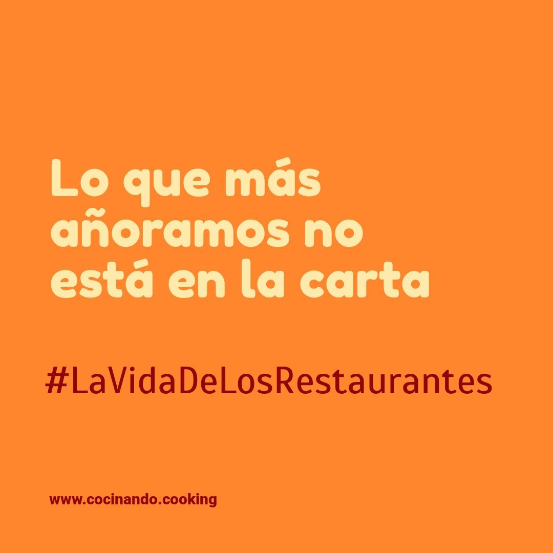 ¡Aquí tienes todas las charlas de #LaVidaDeLosRestaurantes !